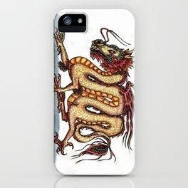 Draca sinensis (clean version) iPhone Case