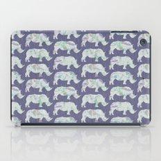 speckled rhinos iPad Case