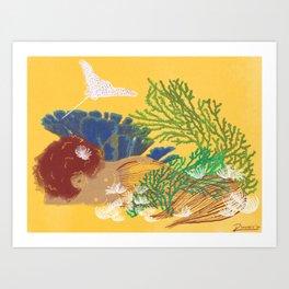 MerRed Art Print