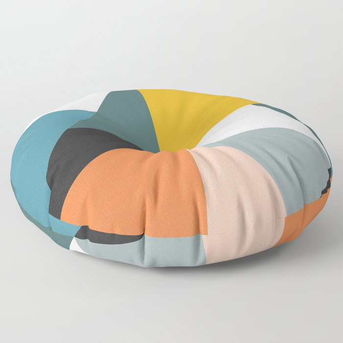 Modern Geometric 36 Floor Pillow
