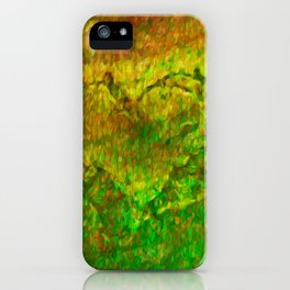 The Heart - Painting by Brian Vegas iPhone Case