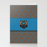 ravenclaw Stationery Cards featuring Ravenclaw House by Sarah and Bree