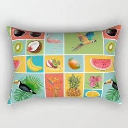 Summer Panopticum Rectangular Pillow