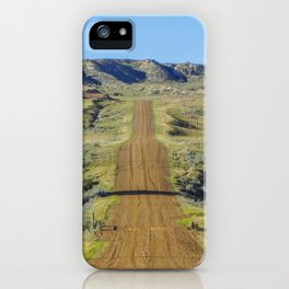 Road to the Ghost Town iPhone Case