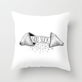 The Mean Cookie (1/13) Throw Pillow