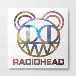 Radio Head Metal Print