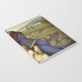 Madonna of the Meadows by Raphael Notebook