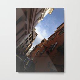 a glimpse of the colliseum  Metal Print