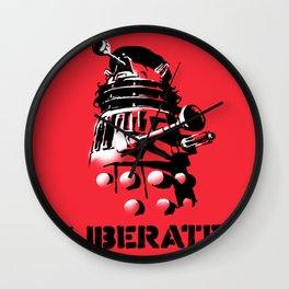 LIBERATE (VIVA DALEK!) Wall Clock