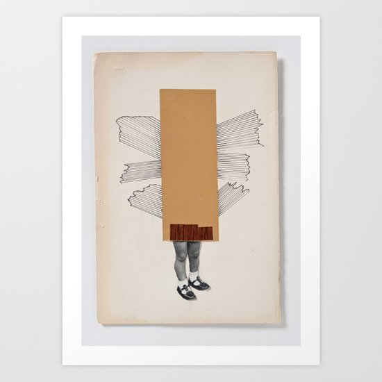 Every day is moving day Art Print