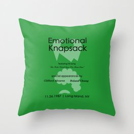 Emotional Knapsack - Friends Throw Pillow