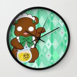Lily Bear Lulu Wall Clock