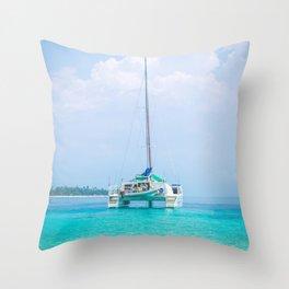 San Blas, Panama. Throw Pillow