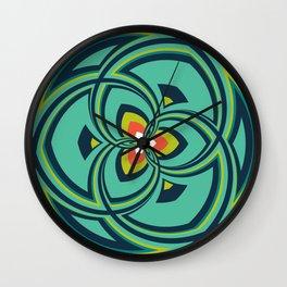 Spiral Rose Pattern A 4/4 Wall Clock