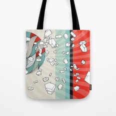 The right direction of life Tote Bag
