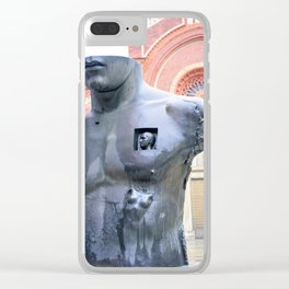 Chest in Half Clear iPhone Case