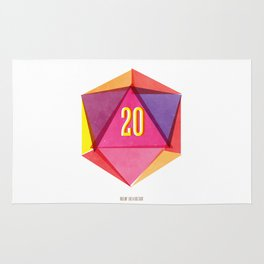Rolling D20's Like A Big Shot  Rug
