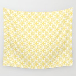 HELLO YELLOW - ANISSA DIAMOND by MS Wall Tapestry