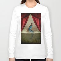 mermaid Long Sleeve T-shirts featuring Mermaid by Maria Kanevskaya