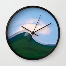 Abstract Fun 19 Wall Clock
