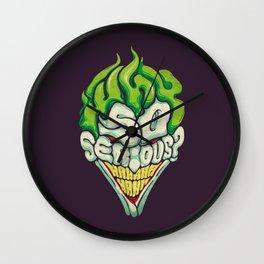 Joker / Why So Serious Wall Clock