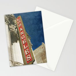 1931 Los Angeles Theatre Vintage Sign Stationery Cards