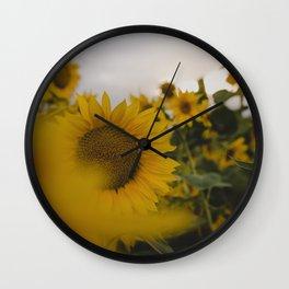 Happy Field Wall Clock