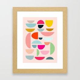 Contemporary art IV Framed Art Print