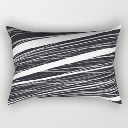 At the speed of light Rectangular Pillow