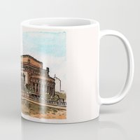 philippines Mugs featuring Philippines : Manila Central Post Office by Ryan Sumo