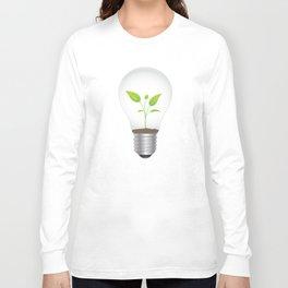 Light Bulb Plant Long Sleeve T-shirt