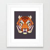 fierce Framed Art Prints featuring Fierce by Nayla Smith