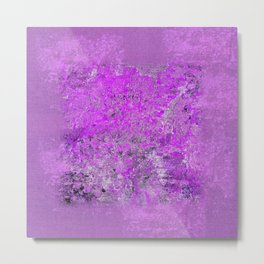 wisteria - abstract Metal Print