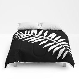 PALM LEAF WHITE LEAF Comforters