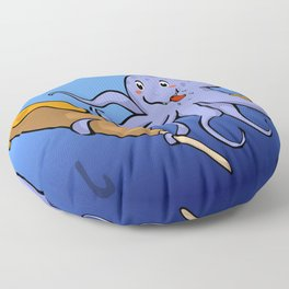 Tako Dog Floor Pillow