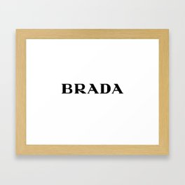 BRADA Framed Art Print