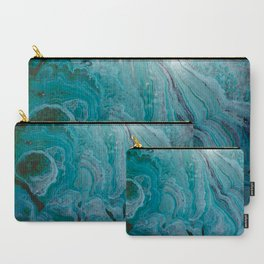 Blue stalactite Carry-All Pouch