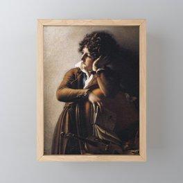 Anne-Louis Girodet de Roussy-Trioson - Benoît-Agns Trioson Framed Mini Art Print