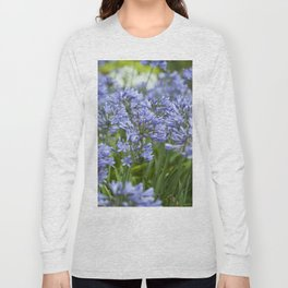 Field of Agapanthus Long Sleeve T-shirt