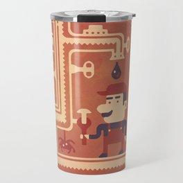 Mario at work Travel Mug