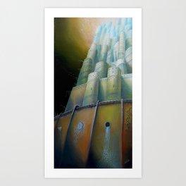 Midriasi Art Print