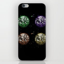 Tree Planets iPhone Skin
