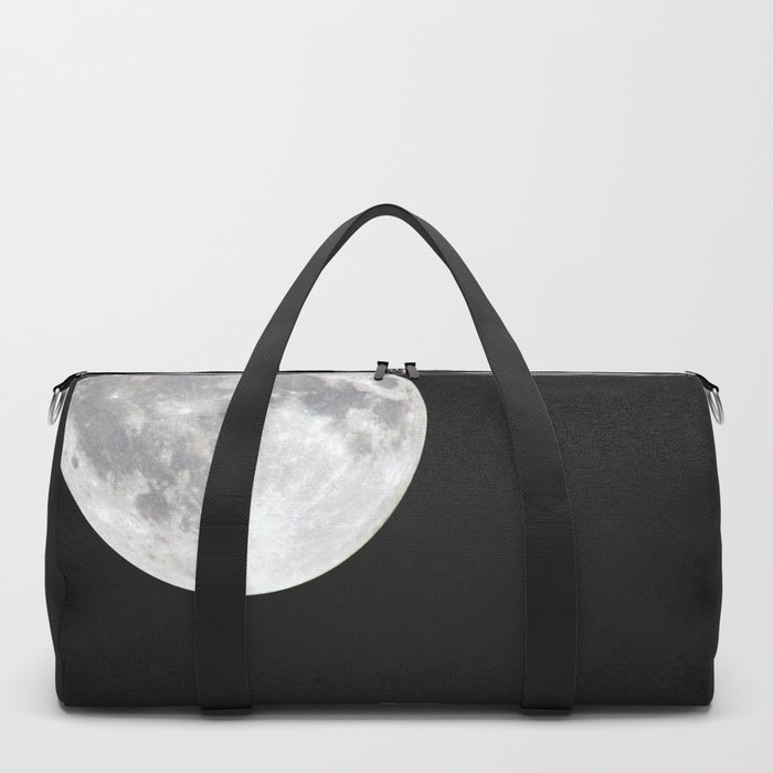 I'm sorry for what I said when it was full moon - Phrase lettering Duffle Bag