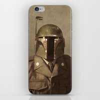 general iPhone & iPod Skins featuring General Fettson   by Terry Fan