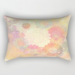 floral painterly effect Rectangular Pillow