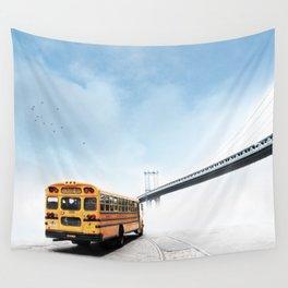 Manhattan Bridge Wall Tapestry