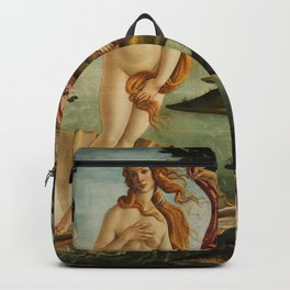 The Birth of Venus (Nascita di Venere) by Sandro Botticelli Backpack