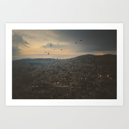 Nablus, Palestine Art Print