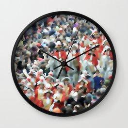 Carnival Karneval Fasching Fastnet  Wall Clock