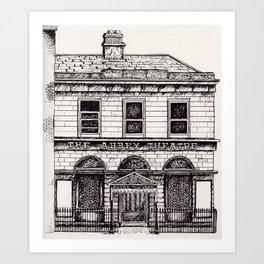 Abbey Theatre, Dublin Art Print